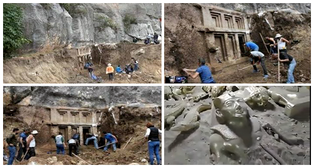 A New Tomb From 10000 BC Discovered in turkey amazing connection with queen Nefertiti.