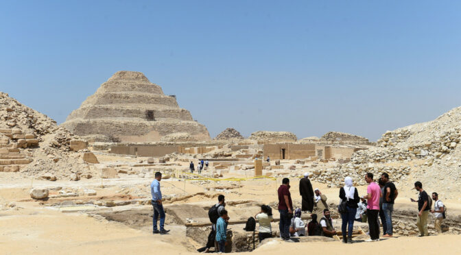 Egypt says it's unearthed large animal mummy, likely a lion