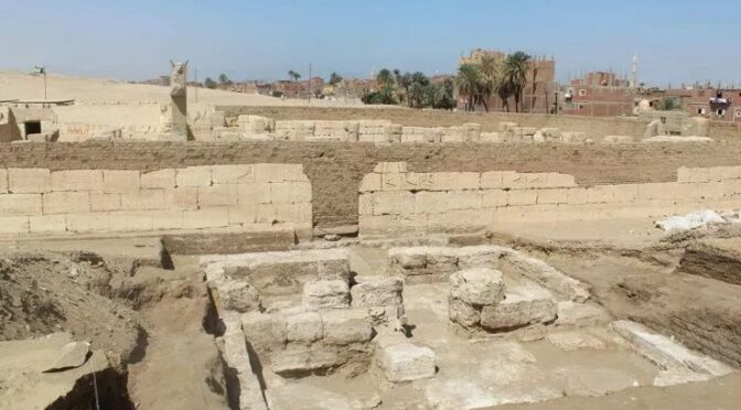 Ancient Egypt: Archaeologists Discover Hidden Palace Marked With Symbols of Ramesses the Great