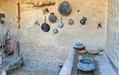 Restored Pompeii Kitchens Give Us An Idea Of How Romans Cooked