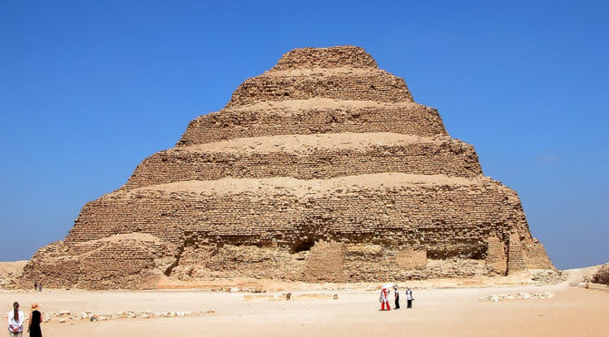 Evidence of hidden pyramid discovered in Saqqara near Egypt's oldest pyramid