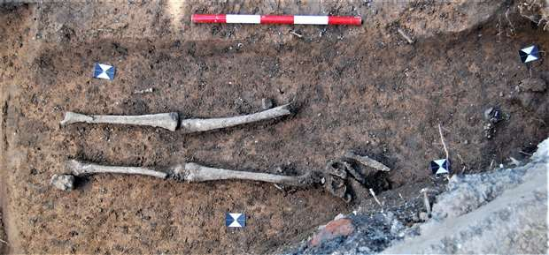 1,400-Year-Old Anglo-Saxon Burial Unearthed in Canterbury