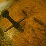 Real-Life Excalibur Found Underwater In Bosnia – Medieval Sword In Stone Pulled Out