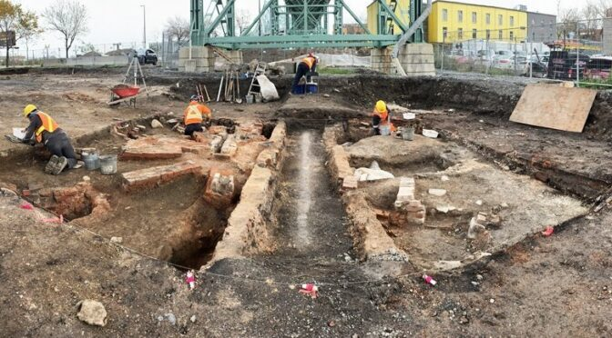 A Kiln That Fired Millions of Clay Pipes Was Unearthed Under a Montreal Bridge