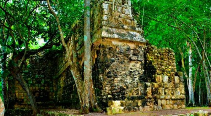 Archaeology shock: Experts discover mysterious Mayan palace lost for 1,000 years