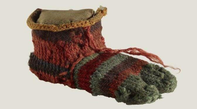 1,700-Year-Old Sock Reveals The Height Of Fashion In The Days Of Ancient Egypt