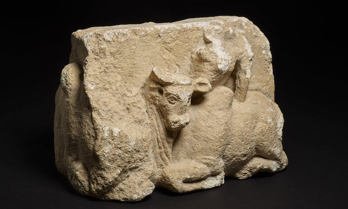 Officials Recover Limestone Sculpture Looted from Afghanistan