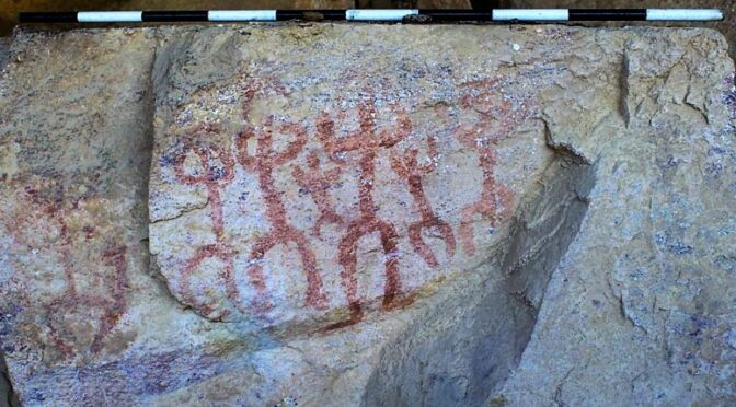 Ancient Cave Filled With 10,000-Year-Old Cave Paintings Accidentally Discovered By Egyptologists In Sinai