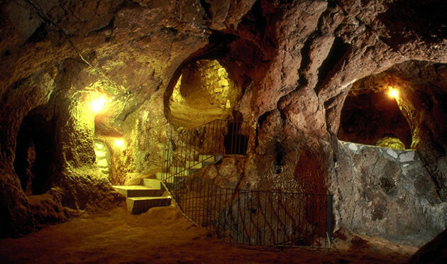 A Man Renovating His Home Discovered A Tunnel... To A Massive Underground City