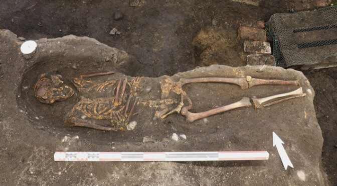 Reburied Medieval Remains Unearthed in Norway