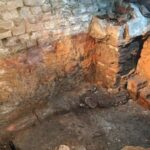 Archaeologists re-excavate hidden Roman bath after 130 years