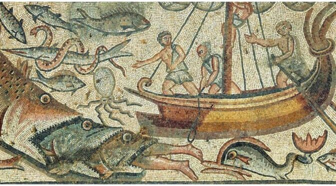 Archaeologists have uncovered a stunning 1,600-year-old biblical mosaic in northern Israel.