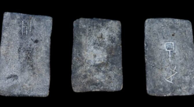 Scientists find that tin found in Israel from 3,000 years ago comes from Cornwall, England.