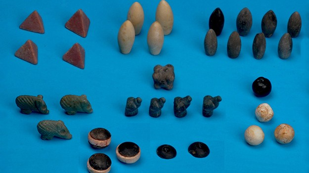 Set of 5000-year-old board game pieces discovered in Turkey