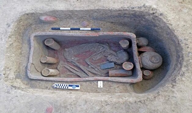 Prehistoric Clay Coffin Burials Uncovered in Northern Egypt