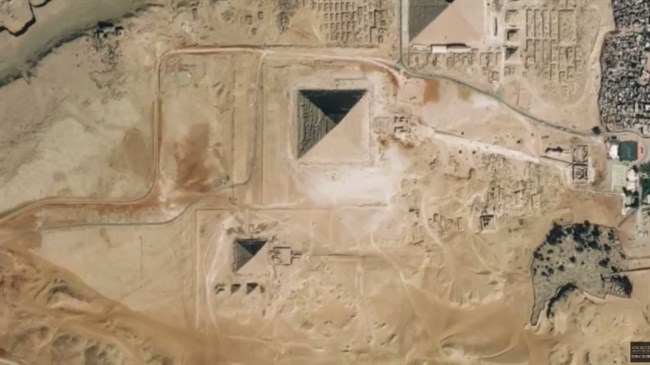 'Lost fourth Pyramid of Giza found' after remarkable discovery
