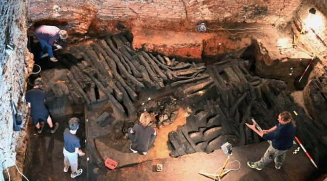 Remains Of Medieval Wall Unearthed In Czech Republic