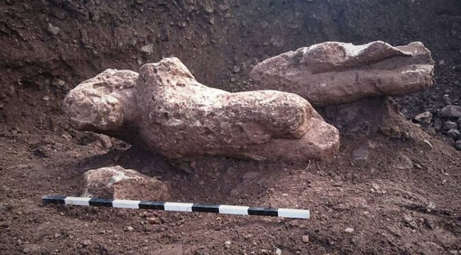 Greek Farmer Finds Ancient Cemetery Full of Naked Statues