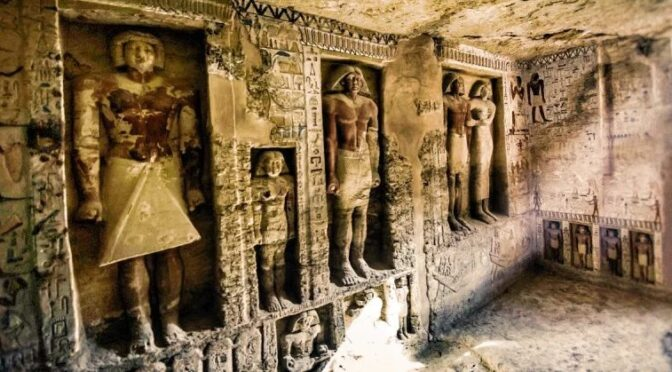 Untouched and Unlooted 4,400-yr-old Tomb of Egyptian High Priest Discovered