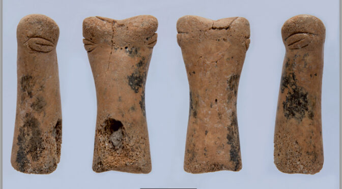 Rare, Neolithic 'Goddess' Figurine Discovered in Turkey