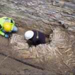 Walls made of human bones discovered under Ghent cathedral
