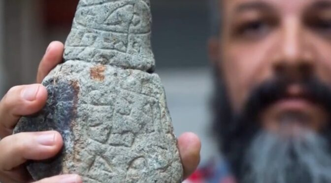800 Ancient Stones with Hebrew Writing in Puerto Rico Authenticated!