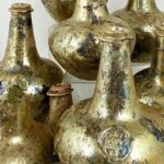 Rare 17th Century Wine Bottles Worth a Fortune Unearthed in England
