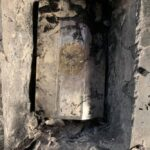 Bones of 13th-century saint found hidden inside the small silver coffin