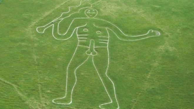 Tests Underway to Solve Enigma of Naked Cerne Abbas Giant