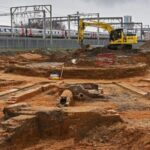 19th-Century Railway Turntable Unearthed in England