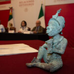 Mexican Government Returns Stolen Bronze Sculpture to Nigeria