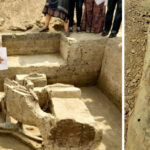 A Farmer in India stumble upon something, that turns out to be a 5,000-year-old chariot