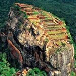Ancient City found atop huge Rock in Srilanka