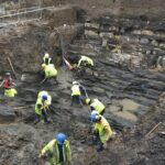 Archaeologist hails 'extraordinary' Viking village find in Dublin