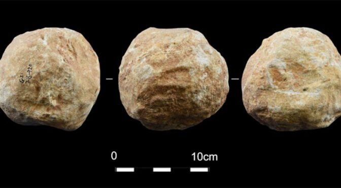 Israeli Archaeologists Solve Mystery of Prehistoric Stone Balls