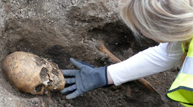 Two Viking Boat Graves—With a Warrior Inside—Found in Sweden