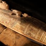 Archaeologist Discover Paintings of Goddess in 3,000-year-old mummy's coffin
