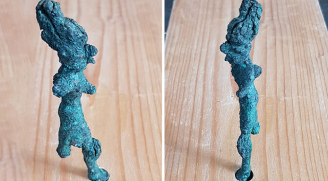 Bronze Canaanite Figurines Unearthed in Israel