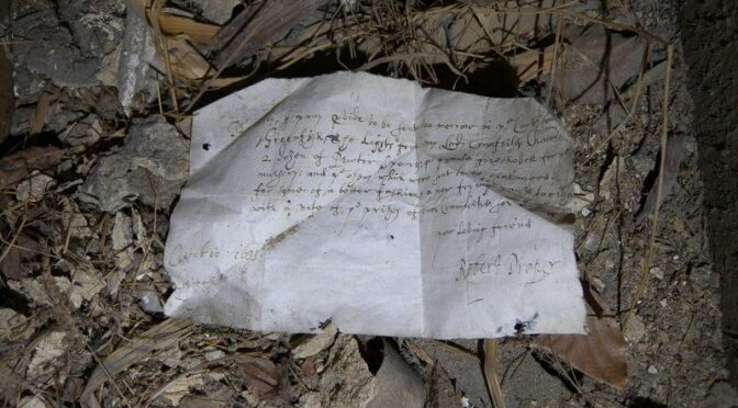 387-Year-Old Shopping List Discovered Under Floorboards In Historic English Home