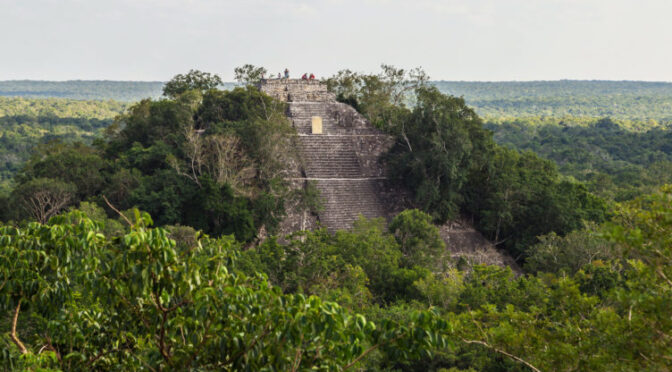 Ancient Maya kingdom with pyramid discovered in southern Mexico