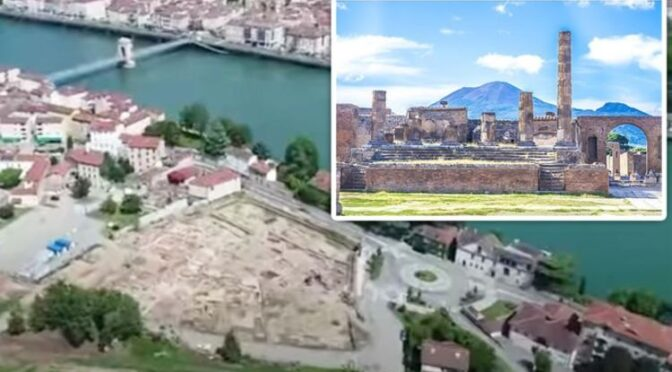 Archaeology breakthrough: 2,000-year-old 'mini Pompeii' discovered in France