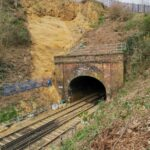 Railway Workers discover a 14th-century cave with medieval shrine or hermitage