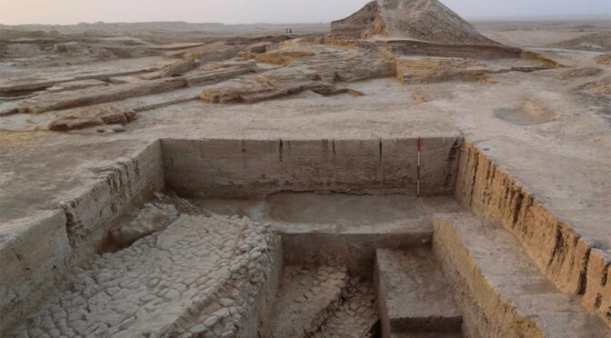 Ritual Site Dedicated to Mesopotamian War God Discovered in Iraq
