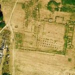 Buried Roman basilica at Ostia Antica spotted by Google Earth