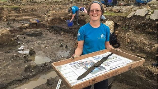 Rare Roman Cavalry Swords And Toys Unearthed Along Hadrian's Wall