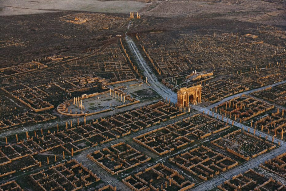 Buried in the sand for a millennium: Africas roman ghost city