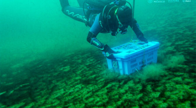 Underwater Artifacts Returned to Mexico's Lake of the Moon