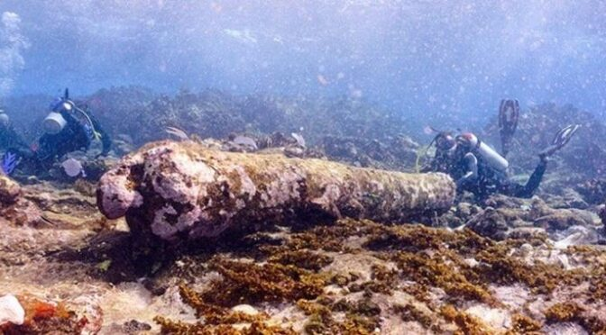 Archaeologists Discover More Than 200-Year-Old Shipwreck In Mexico's Caribbean