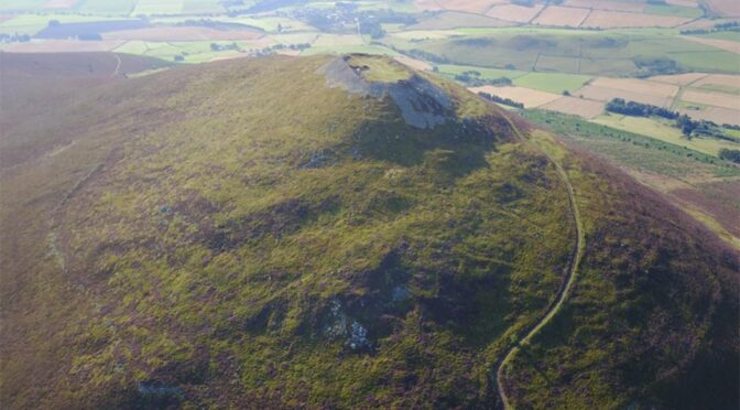 Hillfort revealed to be the largest Pictish site ever discovered in Scotland