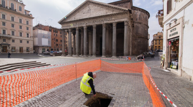 Rome Sinkhole Makes Extraordinary Archaeological Find